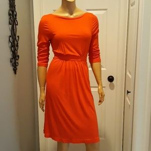 J. Crew red dress size small long sleeve